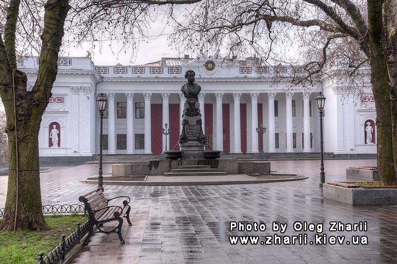 сочинение описание памятника а с пушкина в одессе