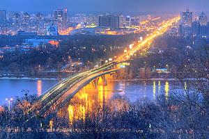 Киев мост метро мост метро