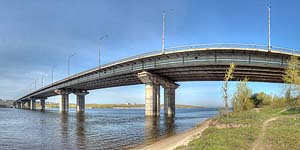 [ru]Днепродзержинск, Большой мост через Днепр[en]Dniprodzerzhynsk, Large Bridge over Dnieper